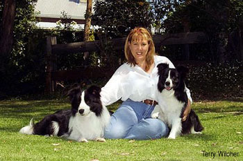 Mel with Webster and Buffy